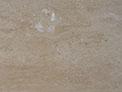 coffee travertine-polished-cross cut-filled