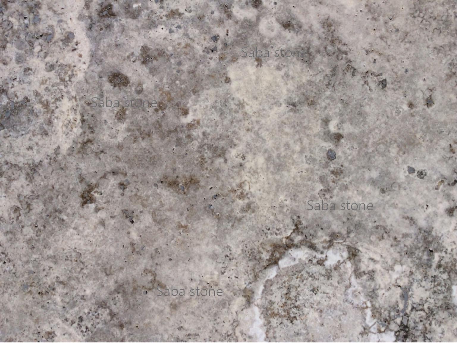 silver travertine-polished-cross cut-filled